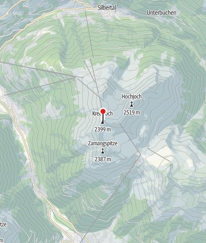 Karte / Kreuzjoch (2.398 m)