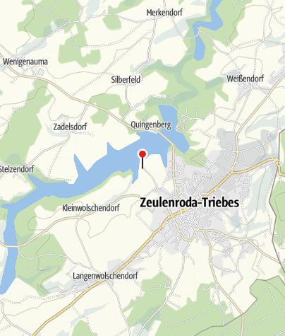 Karte / Stadt Zeulenroda-Triebes