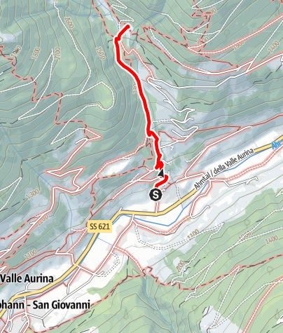 Mappa / Escursione alla malga Bizathütte