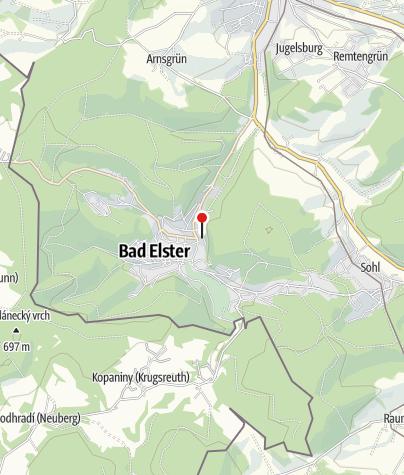 Karte / Moor- und Mineralheilbad Bad Elster