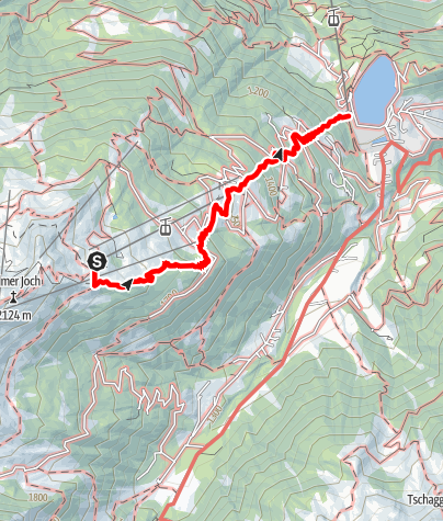 Karte / Erlebnisweg Golm