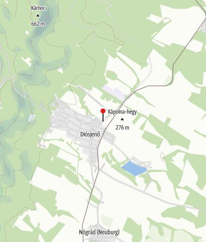 Térkép / Kerékpár Pont (Békástó Panzió)