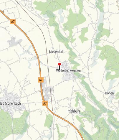 Karte / Festhalle Wolfertschwenden