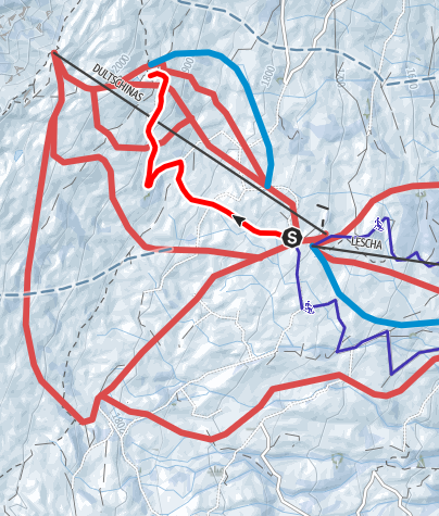 Map / Schneeschuhtrail Älpli Bar