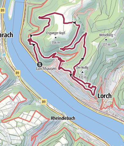 Kaart / Rhein-Wisper-Glück