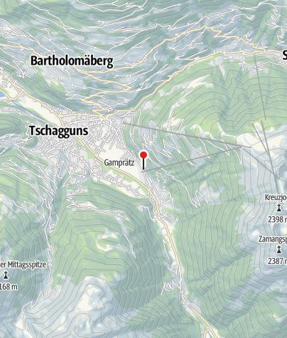Karte / Ferienhaus Fratte