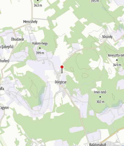 Map / Felsődörgicsei Szent Péter-templomrom