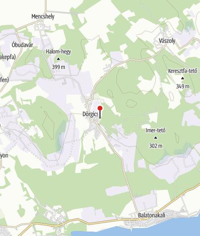 Map / Alsódörgicsei Boldogasszony-templomrom