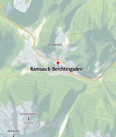 Karte / E-Ladestelle am Berghotel Rehlegg