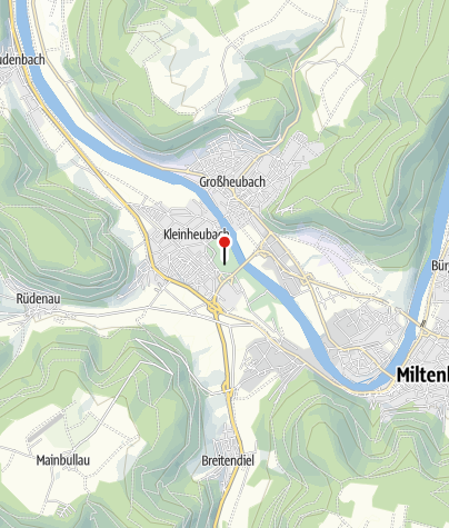 Karte / Schlosspark Kleinheubach