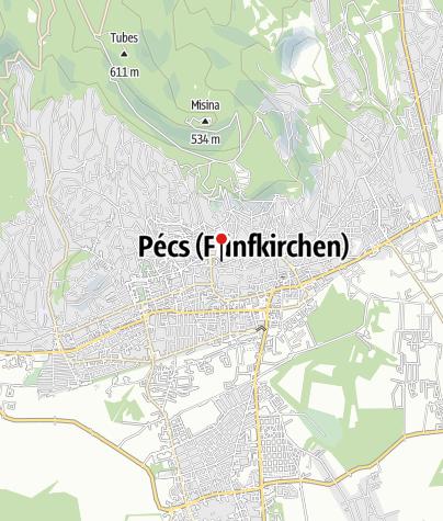 Térkép / Szent Péter és Szent Pál Székesegyház (Pécsi bazilika)