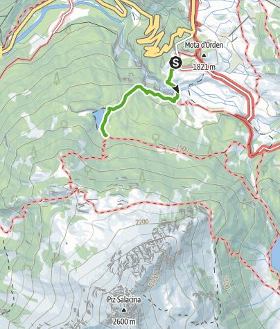 Map / Schmugglerweg Maloja