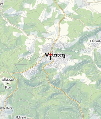 Karte / Dorf Alm