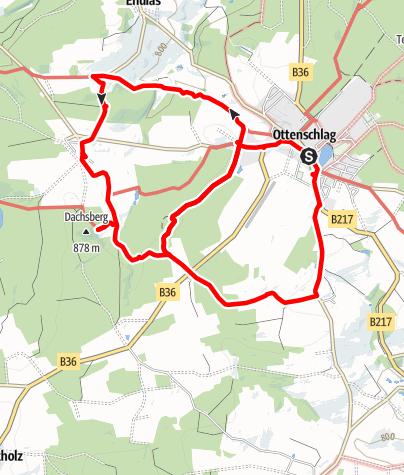 Karte / Lyrikweg lang