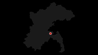 Karte / Alb-Donau-Kreis Radtour 14 - Von Erbach zum Panoramablick aufs Hochsträß