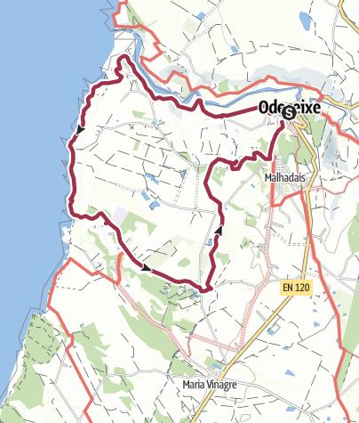 Map / Odeceixe Loop Walk