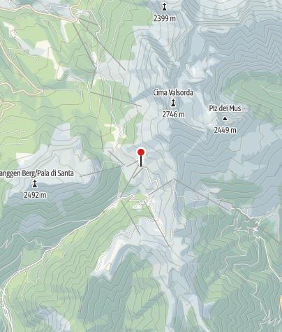 Karte / Zischgalm