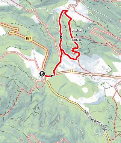 Karte / Urschitz