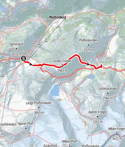 Mapa / Großer Trögler - Fantastischer Aussichtsberg