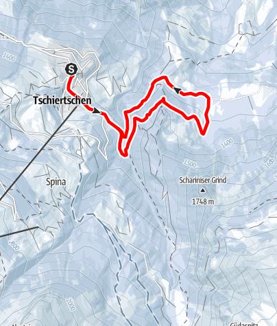 Map / Leichte Rundtour Fuxenbödeli