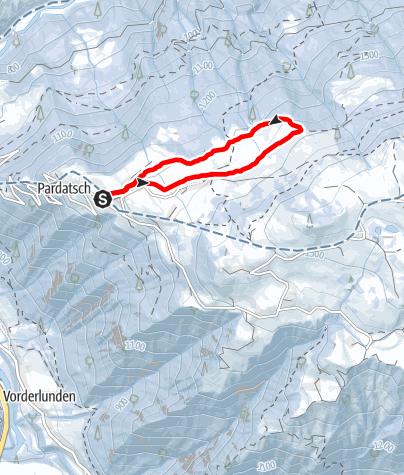 Map / Vorderstels Mini Rundtour
