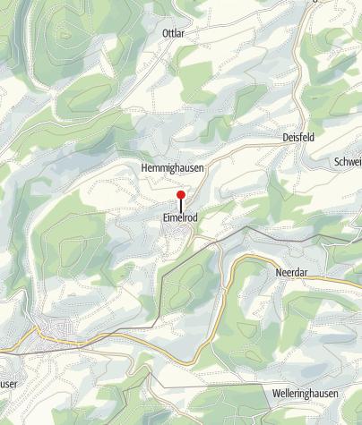 Map / km 84 / Landgasthof Sauer / Verpflegung
