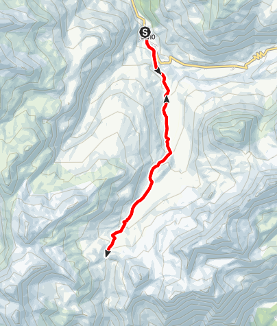 Karte / Septimerpass E-Bike Tour
