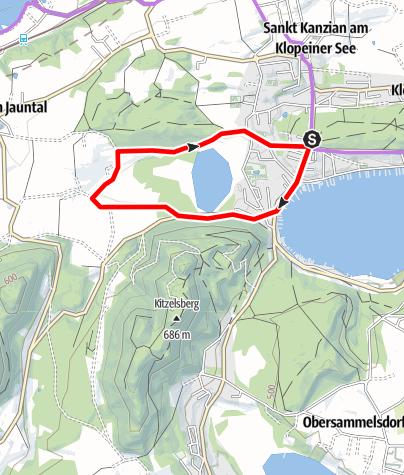 Karte / 2-Seen