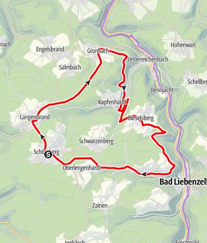 Karte / Hoch über der Nagold Nr. 7