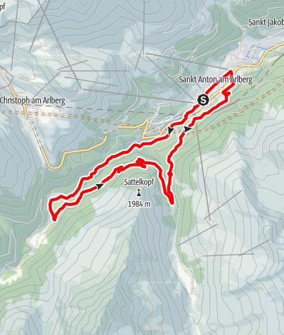 Karte / Panoramatrail 15 km