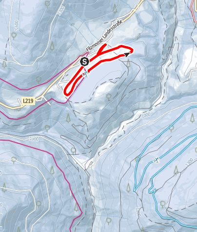 Karte / Hachauloipe
