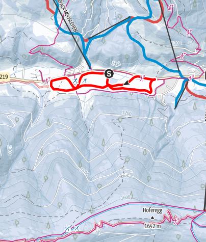 Karte / Filzmoosloipe