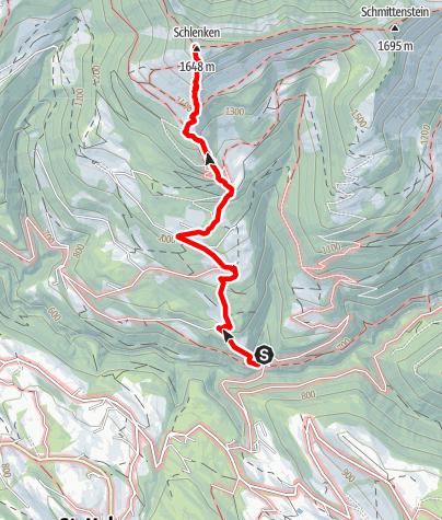 Karte / St. Koloman: Schlenken