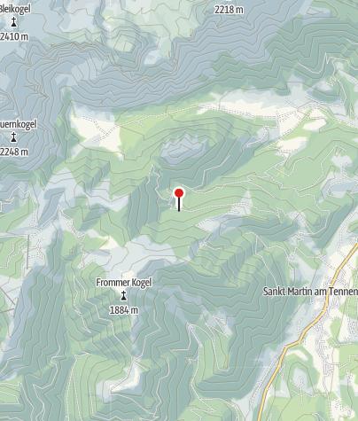 Karte / Schöberlalm 1.330 m