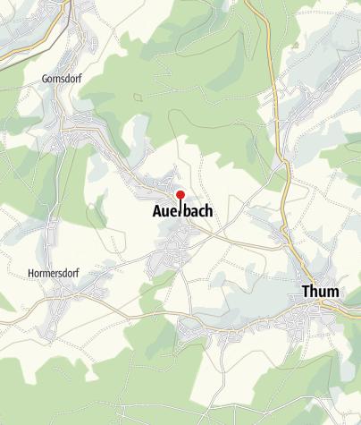 Karte / Auerbach, Kirche