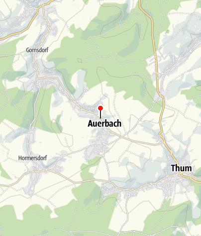 Karte / Auerbach, Haupt-/Schulstr