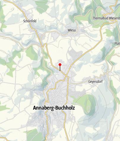 Karte / Annaberg-Buchholz, Erzgebirgsklinikum