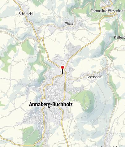 Karte / Annaberg-Buchholz, Feldschlößchen