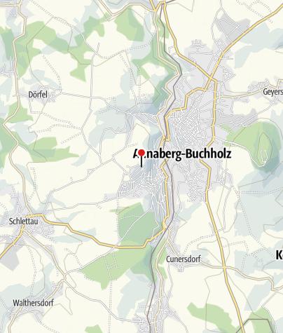 Karte / Annaberg-Buchholz, Gladiolenweg