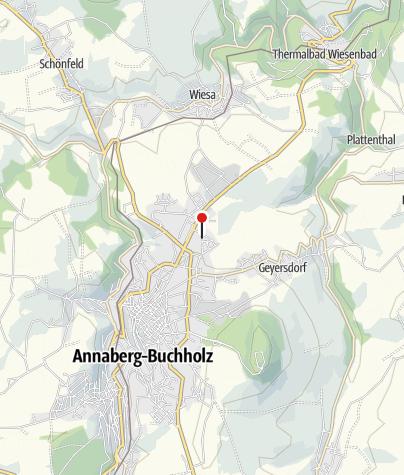 Karte / Annaberg-Buchholz, Siedlerweg