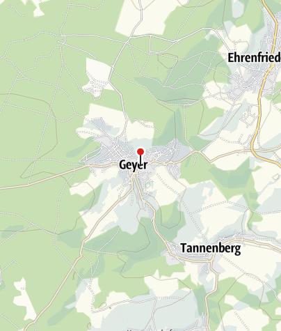 Karte / Geyer, Busbahnhof