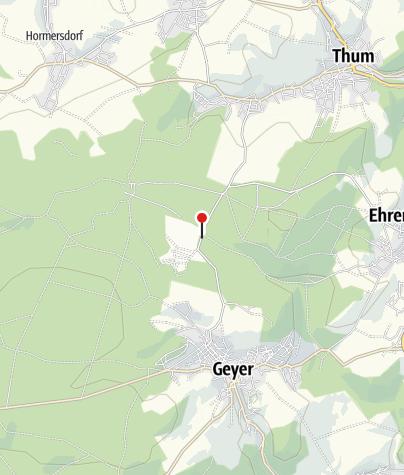 Karte / Geyer, Gh Teichschänke