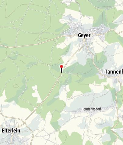 Karte / Geyer, Gh Waldschänke