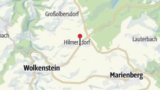 Karte / Hilmersdorf, Gasthof