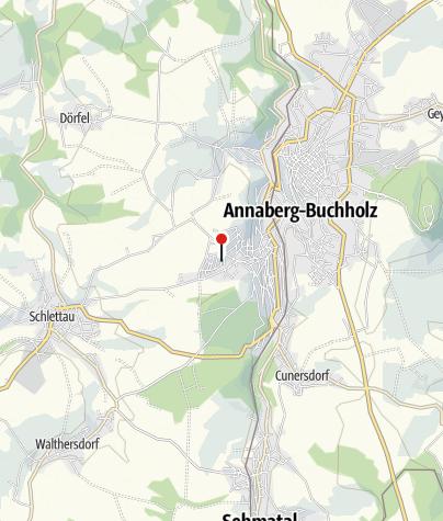 Karte / Annaberg-Buchholz, Haspelweg