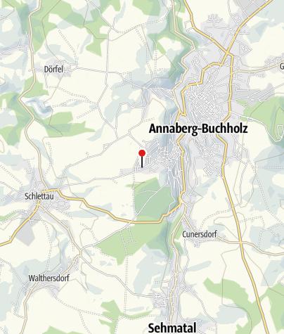 Karte / Annaberg-Buchholz, Nickelweg