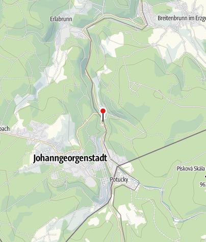 Karte / Johanngeorgenstadt, Steigerdorf