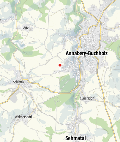 Karte / Annaberg-Buchholz, Drei-König-Stollen
