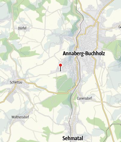 Karte / Annaberg-B, Schlettauer Str/Gartenanlage
