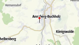 Karte / Annaberg-Buchholz,Geschwister-Scholl-Weg